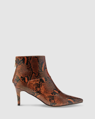 Oxford Women's Ankle Boots - Simone Snake Boots - Size One Size, 37 at The Iconic