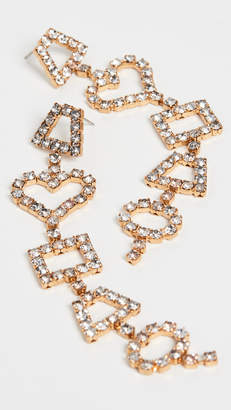 Elizabeth Cole Janie Earrings