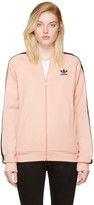 adidas Pink Superstar Track Jacket