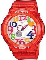 Casio Women's BGA131-4B Baby-G Marine Resort Red Digital Watch