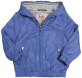 Il Gufo Hooded Nylon & Jersey Jacket