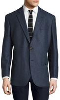 Brooks Brothers Herringbone Notch Lapel Sportcoat