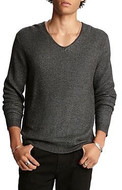 John Varvatos Collection Wool Regular Fit V-Neck Sweater