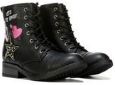 Steve Madden Kids' Jincomand Lace Up Boot Pre/Grade School