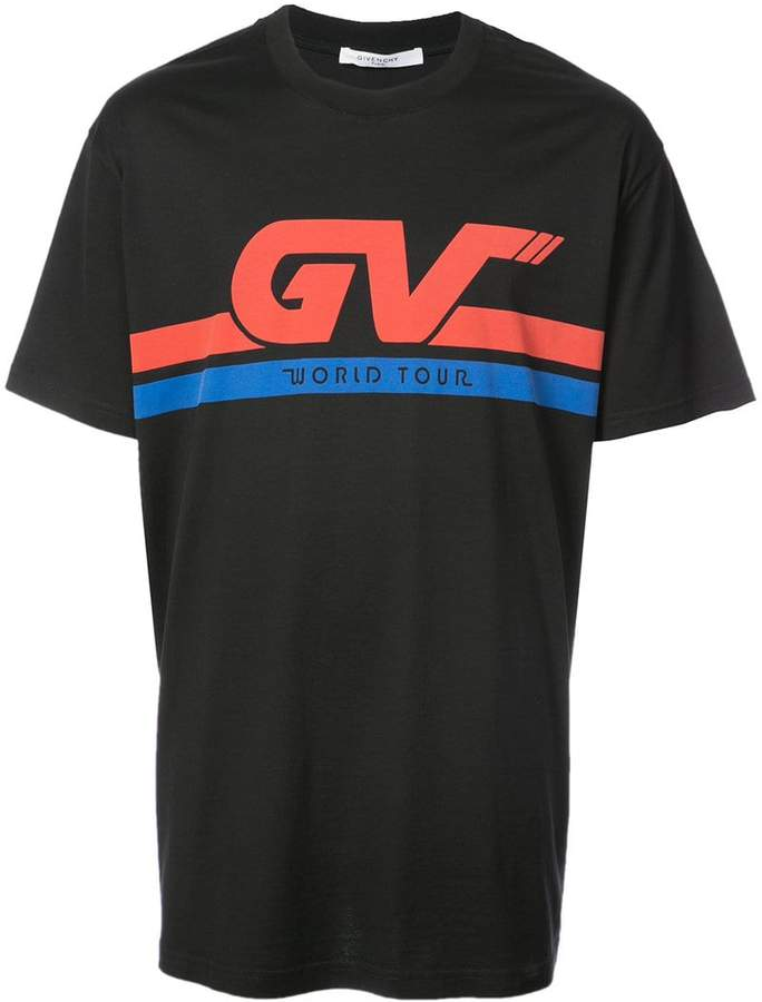 Givenchy GV Motocross Columbian-fit T-shirt