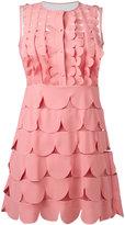RED Valentino scallop dress - women - Polyamide/Polyester - 36