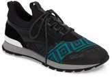 Versace Men's Geometric Sock Sneaker