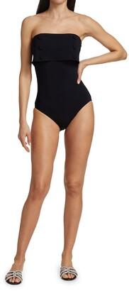 Karla Colletto Swim Billie Strapless One-Piece Swimsuit