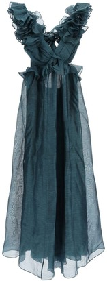 Zimmermann Ladybeetle Ruffle Gown