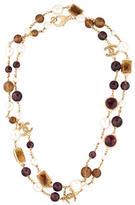Chanel CC Gripoix Necklace