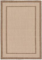 Unique Loom Border Machine-Made Indoor/Outdoor Rug