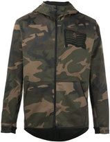 Hydrogen camouflage hooded jacket - men - Cotton/Polyester/Spandex/Elastane - S