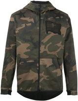 Hydrogen camouflage hooded jacket
