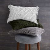 west elm Knotted Net Pillow Cover