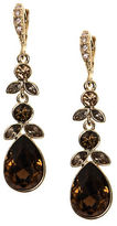 Givenchy Topaz and Crystal Drop Earrings