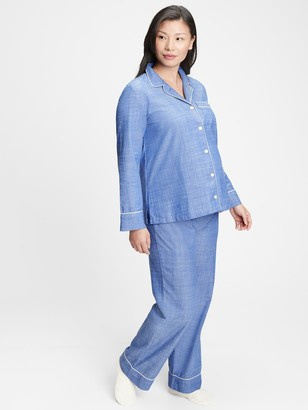 Gap Maternity Flannel PJ Set