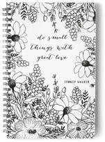 Minted Full Bloom Day Planner, Notebook, or Address Book