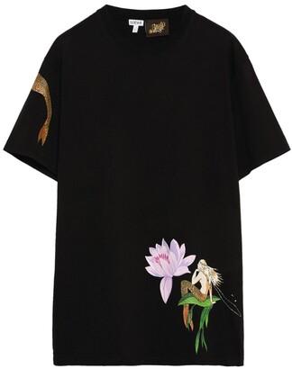 Loewe x Paula's Ibiza Mermaid-Print T-Shirt