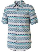 Royal Robbins Men's Slab City Dobby Short Sleeve Shirt - Bowden Short Sleeve Shirts