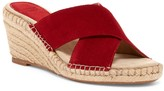 Johnston & Murphy Arlene Cross Band Wedge Sandal