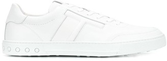 Tod's Lace-Up Side Monogram Sneakers