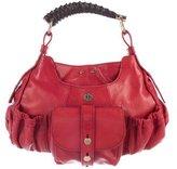 Saint Laurent Leather Mini Mombasa Bag