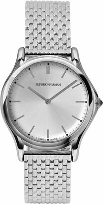 Emporio Armani Swiss Made Men's Swiss Quartz Stainless Steel Dress Watch (Model: ARS2006)