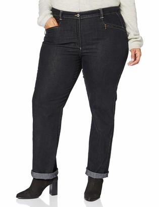 Ulla Popken Women's Stretchjeans Mony K Straight Jeans