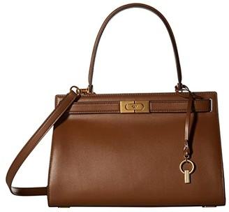Tory Burch Lee Radziwill Small Bag (Moose) Handbags