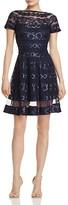 Tadashi Shoji Sequin Fit-and-Flare Dress