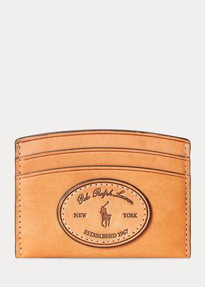 Ralph Lauren Vachetta Leather Card Case