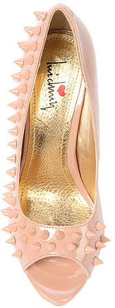 *Sole Boutique The Back At Ya Shoe in Nude