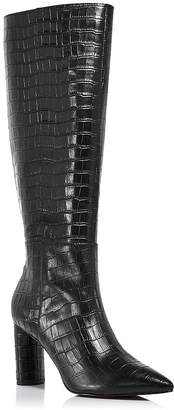 Aqua Women's Maria Block Heel Tall Boots - 100% Exclusive