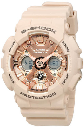 Casio G-Shock Rose Gold-Tone Dial Unisex Watch GMA-S120MF-4ACR