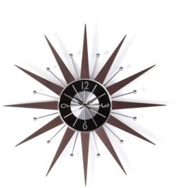 Stilnovo George Nelson Wooden Starburst Clock