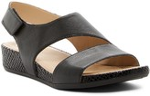Naturalizer Yessica Snake Embossed Wedge Sandal - Multiple Widths Available