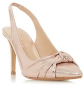 Head Over Heels Knot Detail Sling Back Court Shoe
