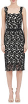 Monique Lhuillier Women's Guipure Lace Cocktail Dress