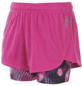 adidas Girls 2-6x Marathon Pongee Shorts