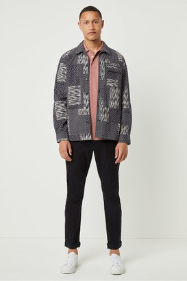 French Connection Sobo Machine Stretch Shirt