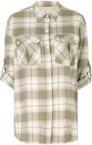 Current/Elliott checked shirt - women - Cotton/Spandex/Elastane - 0