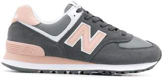 New Balance two-tone lace-up sneakers
