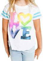 CHASER KIDS - Youth Girl's Watercolor Tee