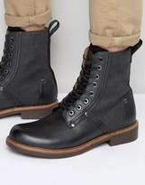 G Star G-Star Labor Lace Up Leather Boots