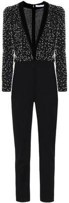 Givenchy Embellished wool jumpsuit