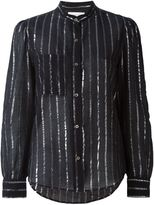 Etoile Isabel Marant 'Samson' shirt - women - Cotton/Metallized Polyester - 42