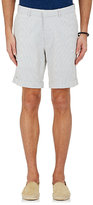Barneys New York Men's Striped Cotton Seersucker Shorts