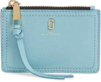 Marc Jacobs The Snapshot Leather Zip Wallet