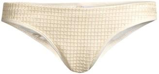OndadeMar Dreambay Low-Rise Ruched Bikini Bottoms