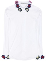 Mary Katrantzou Shane emboidered shirt